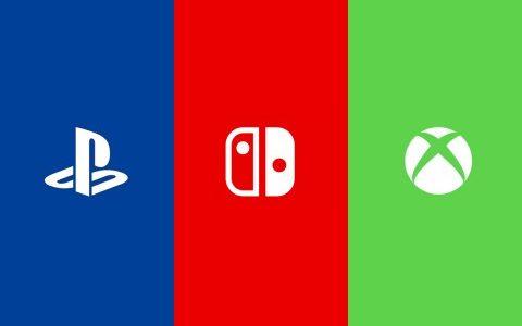 Sorties PlayStation Nintendo Xbox