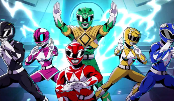 Power Rangers: Mega Battle équipe