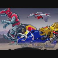 Power Rangers: Mega Battle robots