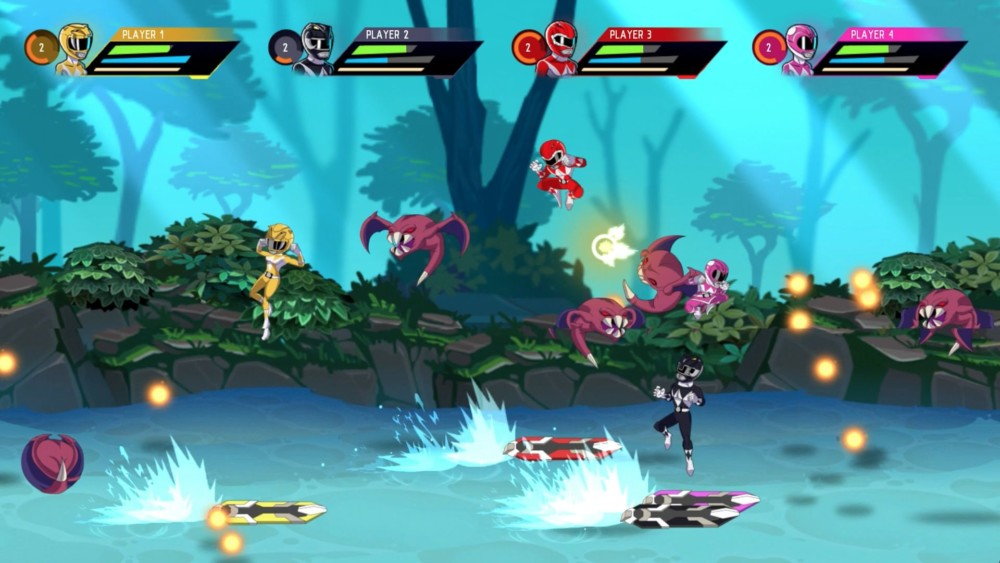 Power Rangers: Mega Battle multijoueur