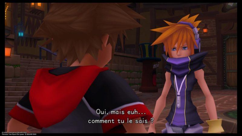 Test Kingdom Hearts HD 2.8 Final Chapter Prologue - Sora et Neku