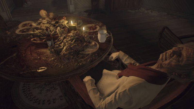 Test Resident Evil 7: Biohazard - repas de famille