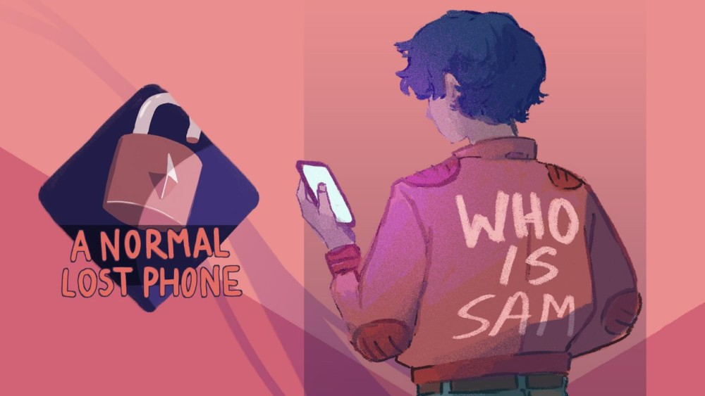 A Normal Lost Phone - Drawing