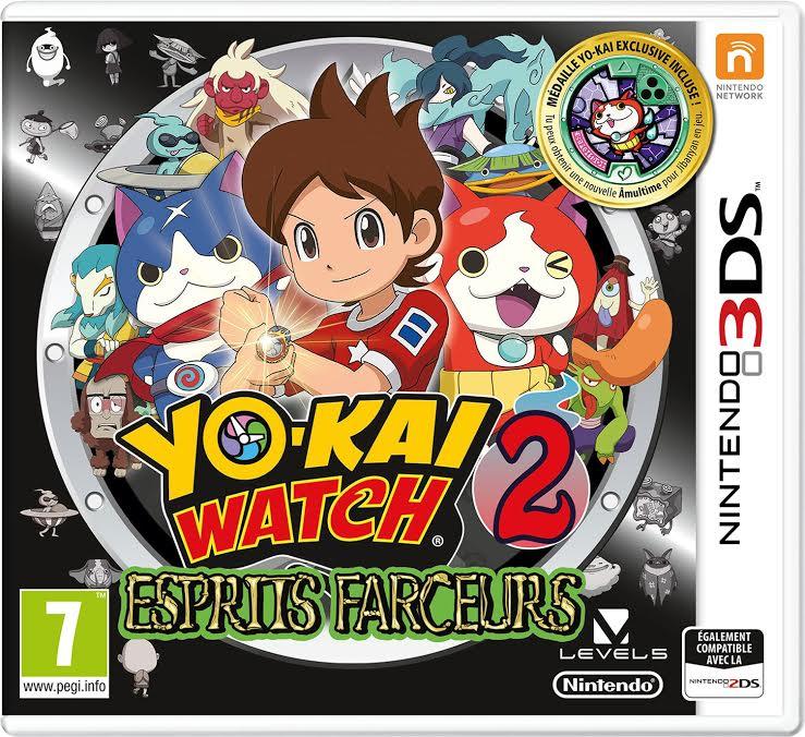 Yo-Kai Watch 2 esprits farceurs