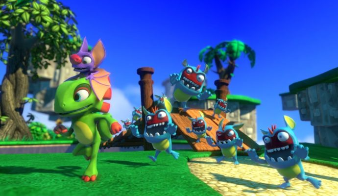 Yooka-Laylee phase de gameplay
