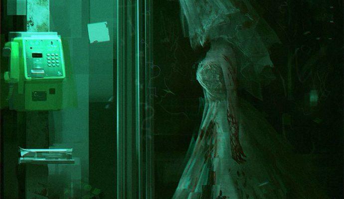 Death Mark fantôme mariée