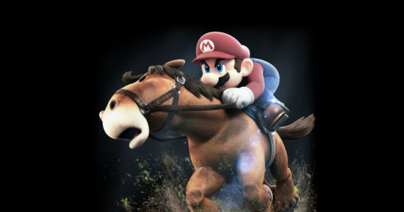 Courses hippiques dans Mario sports superstars