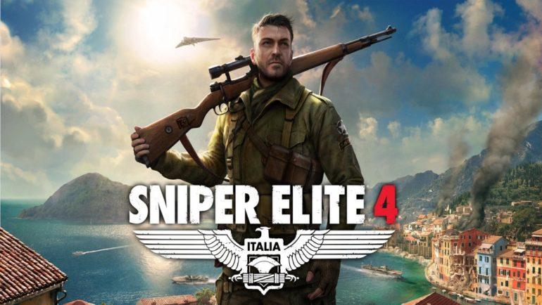 image une pour le test de Sniper Elite 4 : Karl Fairburne, le personnage principal.