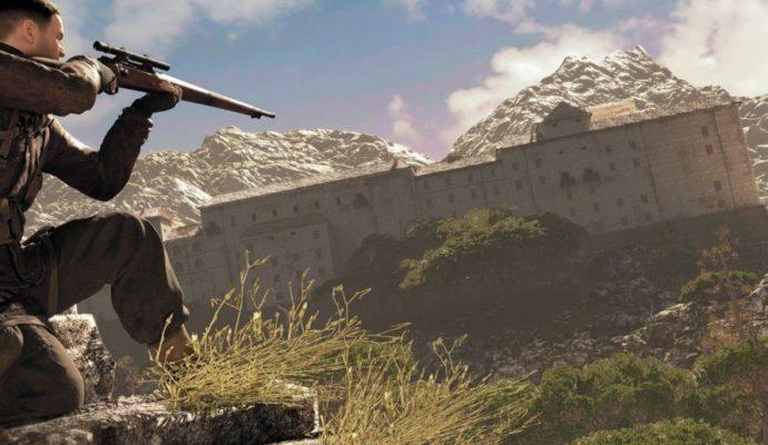 L'un des lieux qu'il faut infiltrer dans Sniper Elite 4
