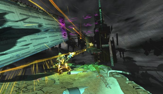 Super Cloudbuilt séquence de gameplay