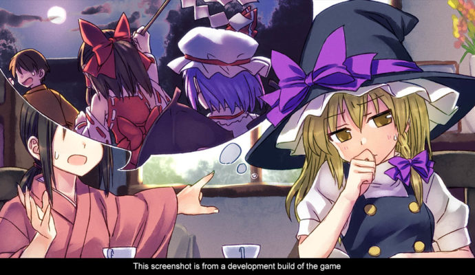 Touhou kobuto V: Burst Battle dialogue