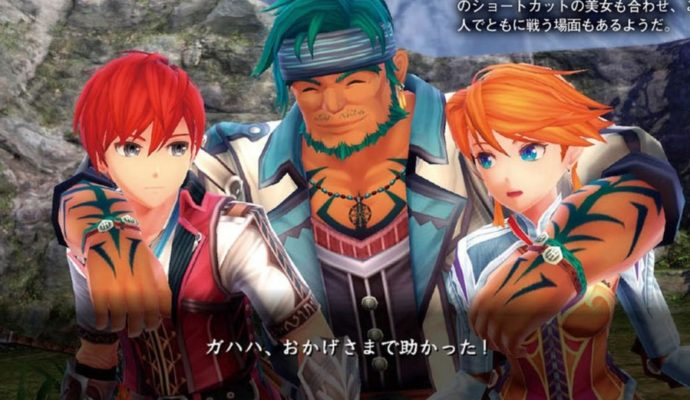 Ys VIII: Lacrimosa of Dana personnages