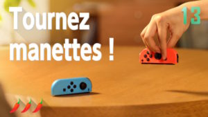 1 2 Switch Tournez manettes