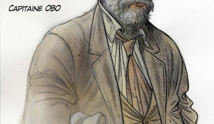 Syberia 3 artwork capitaine Obo