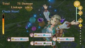 Atelier Firis : The Alchemist and the Mysterious Journey combat 01