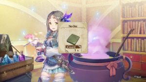 Atelier Firis : The Alchemist and the Mysterious Journey alchimie
