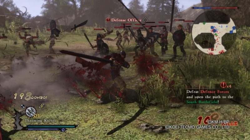 Berserk and the band of the hawk combat
