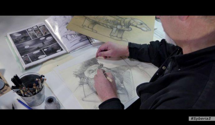 Syberia 3 Benoît Sokal dessins