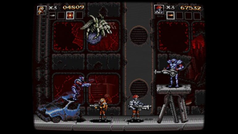 Blazing Chrome Contra