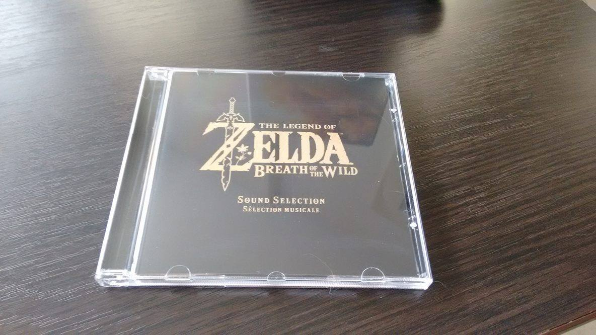 Breath of the Wild collector OST avant