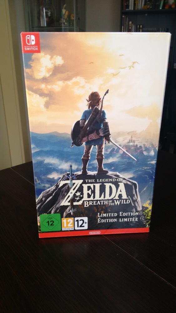 Breath of the Wild collector avant