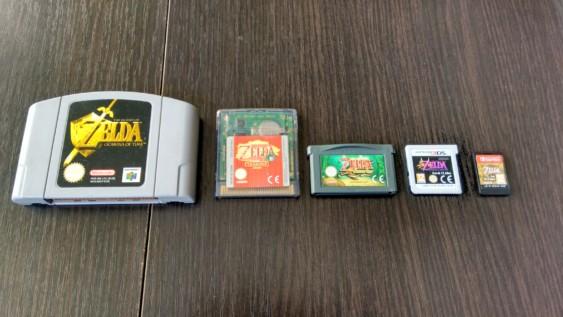 L'évolution des cartouches de Nintendo