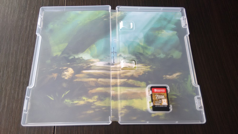 Breath of the Wild collector intérieur