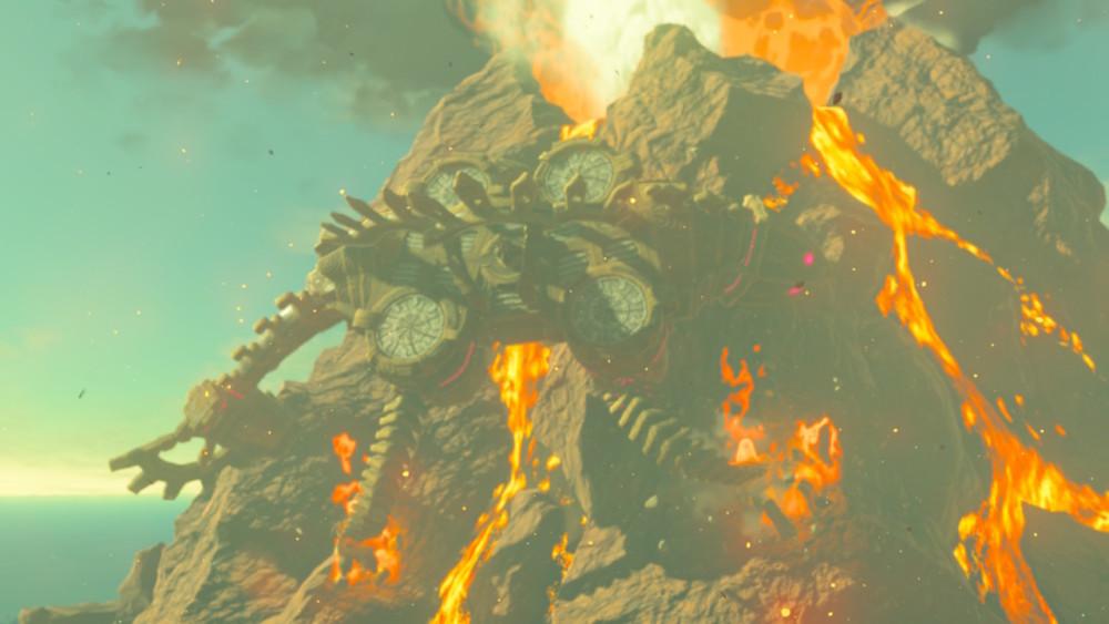 Breath of the wild créature du feu