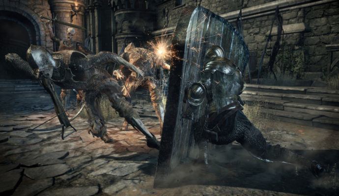 Dark Souls 3 The Ringed City nouvelle arme, bouclier.