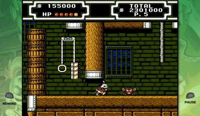 The Disney Afternoon Collection Ducktales gameplay