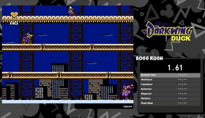 The Disney Afternoon Collection Darkwing Duck Boss rush