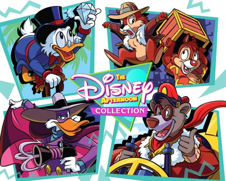 Nouveauté de Capcom: Disney Afternoon Collection