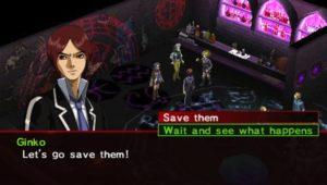 Persona 2 dialogue