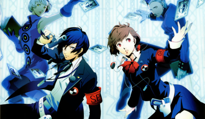 Persona 3 FES personnages