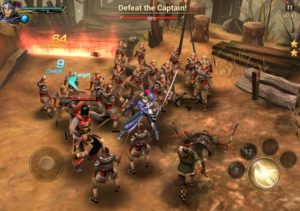 Dynasty Warriors: Unleashed combat