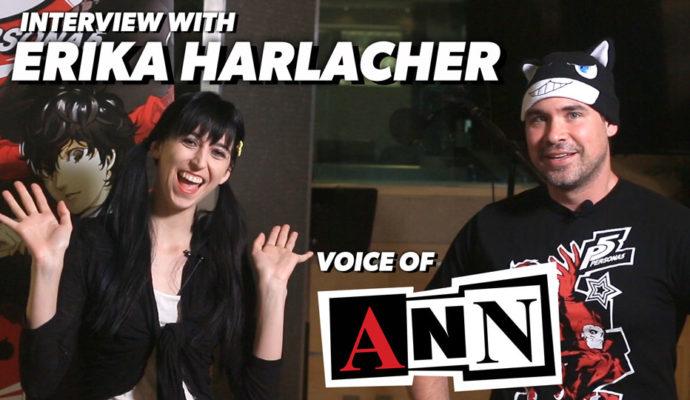 Persona 5 Interview Erika Harlacher