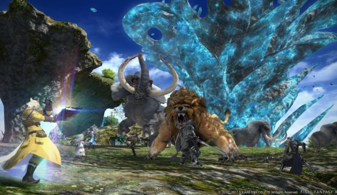 Final Fantasy XIV - animaux sauvages