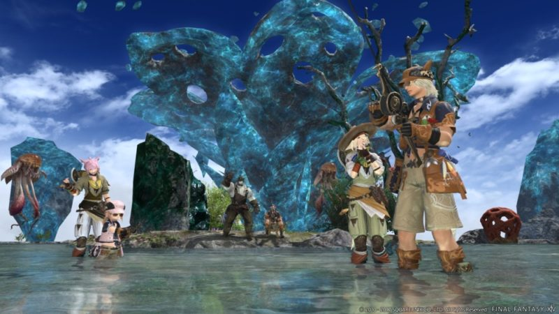Final Fantasy XIV - Personnages