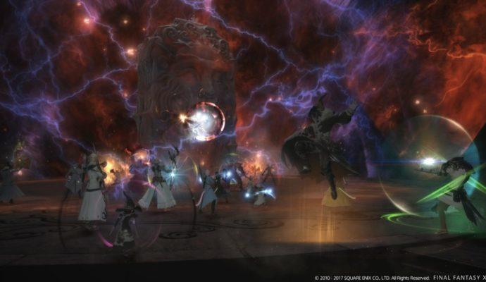Final Fantasy XIV - combat
