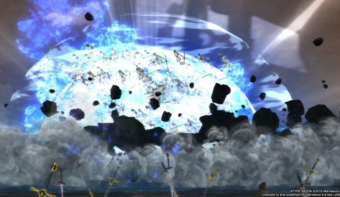 Fate/Extella : The Umbral Star Noble Phantasm