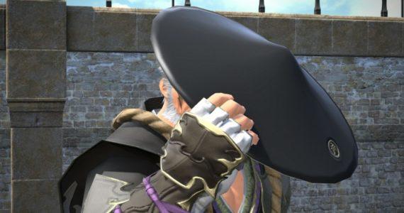 Final Fantasy XIV - Personnage au chapeau