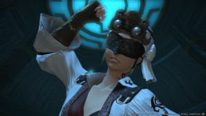 Final Fantasy XIV - personnage masqué