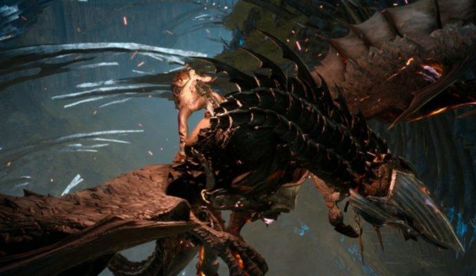 Final Fantasy XV Episode Gladiolus combat aérien.