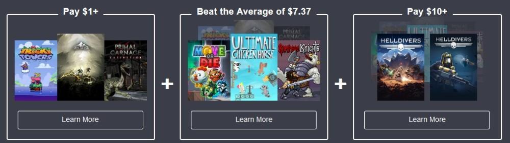 Humble Bundle Multijoueur : liste des jeux