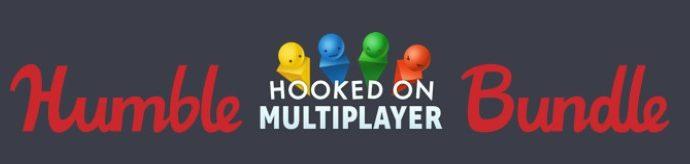La bannière du Humble Bundle multijoueur : Humble Hooked on Multiplayer Bundle
