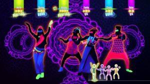 Just Dance 2017 danse à 6