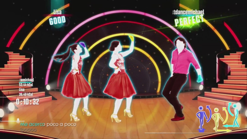 Just Dance 2017 sweat and playlist
