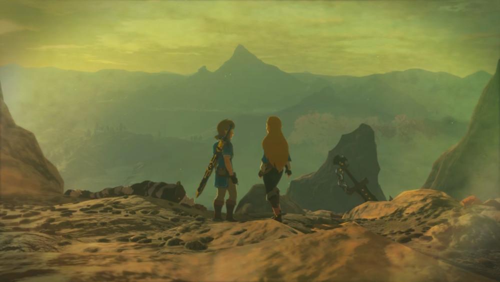 Breath of the Wild Link Zelda