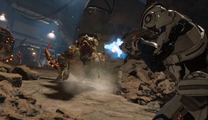Mass Effect: Andromeda combat