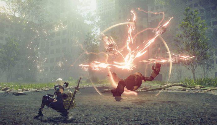 NieR : Automata - combat